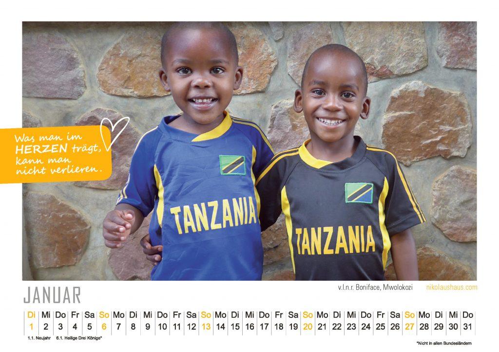 Kalender 2019 Guter Zweck Afrika, Nikolaushaus